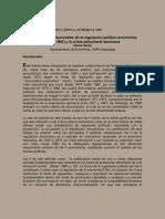 Soria, Víctor 1997 Las formas institucionales de la regulación político-económica (1917-1982) y la crisis estructural mexicana