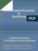 Environmental Scanning & Monitoring