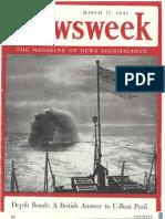 Newsweek Magazine March 17 1941