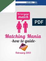 Matching Mania Guide - Feb 2013
