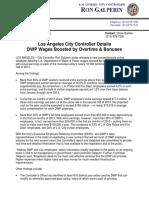 City Controller Report on DWP Salaries