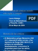Historia de Las Conicas