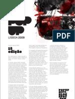 POP UP Lisboa 2009 - Projecto