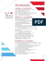 Programa y Calendario Convención PPD 2013