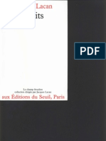Lacan - Ecrits (Fr)