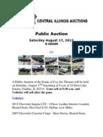 Coys Auction