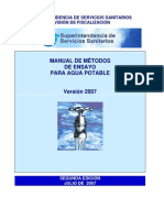 Manual de Metodos de Analisis Del Agua Potable
