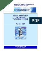Manual de Metodos de Analisis Del Agua Potable