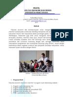 Profil Fakultas Ekonomi dan Bisnis - Universitas Mercu Buana