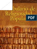 Preview Vocabulario Religiosidad Popular