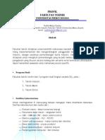 Profil Fakultas Teknik - Universitas Mercu Buana