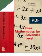 BundayMulholland-PureMathematicsForAdvancedLevel
