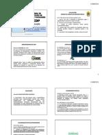 SCDP - Legislação - Slides