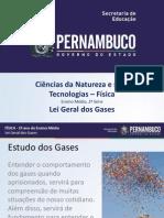 Lei dos gases- Física