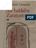 Nietszche Asi Hablaba Zaratustra OCR
