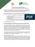 Comentarios a las reservas del GPPRI