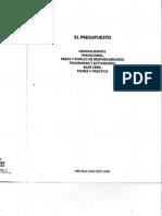 El Presupuesto Cristobal Del Rio