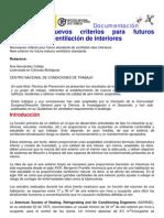NTP 343 Criterios para est�ndares de ventilaci�n interior