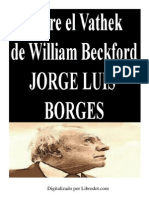 Sobre El Vathek de William Beckford