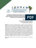 REFORMA UNIVERSITÁRIA NO BRASIL UMA ANÁLISE DOS DOCUMENTOS O