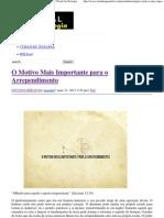 O Motivo Mais Importante para o Arrependimento _ Portal da Teologia.pdf