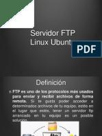 Servidor FTP Ubuntu