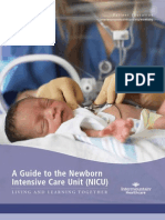 A Guide to the Newborn Intensive Care Unit (NICU)