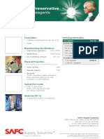 ProClin® 950 Preservative for Diagnostic Reagents - Product Information