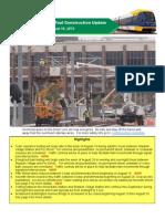 Central Corridor Light Rail Transit Testing