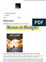 Dízimo hoje_ _ Portal da Teologia.pdf