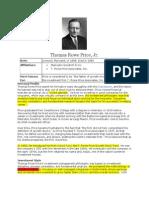 Thomas Rowe Price Investment Philosophy