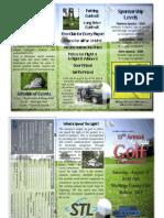 Golf Tourney Brochure