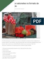 Aprenda a Fazer Sabonetes No Formato de Frutas Vermelhas