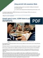 """Amphi gets 5-year, $29M federal grant for teacher development"""