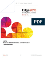 IBM® Edge2013 - Basics of IBM Storwize V7000 Unified