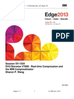 IBM® Edge2013 - SVC Storwize V7000 Real-time Compression