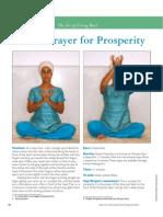 Lotus Prayer for Prosperity