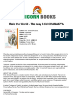 Chanakya The father of the today's Economics
