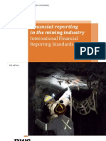 Financial Reporting in the Mining Industry