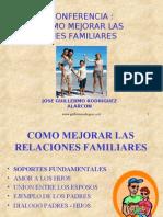 Como Mejorar Las Relaciones Familiares