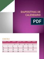 Diapositivas de Calendario