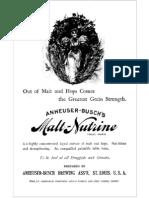 Anheuser Buschs Malt Nutrine
