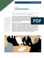 Improving Board Governance