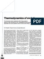 GEN.19. Prigogine, I;, Nicolis, G.; Babloyantz, A. - Thermodynamics of Evolution I (1972)