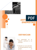 Antivalor Enemistad