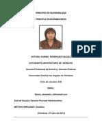 Principio de Razonabilidad - Revista