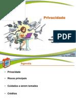 Fasciculo Privacidade Slides