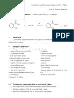 Exp_9 - síntese de salicilato de metila