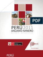Anuario Minero Peru 2011