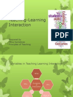 Teaching Learning Interaction